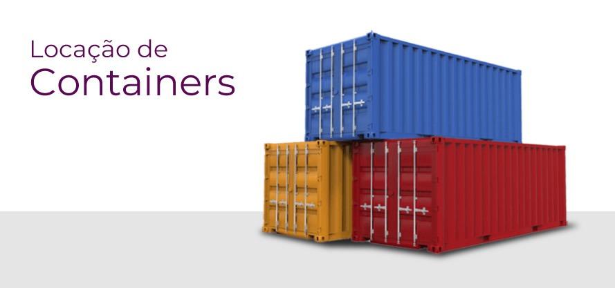 Locação de Containers